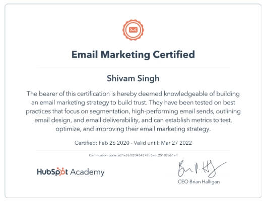Email Marketing Shivam